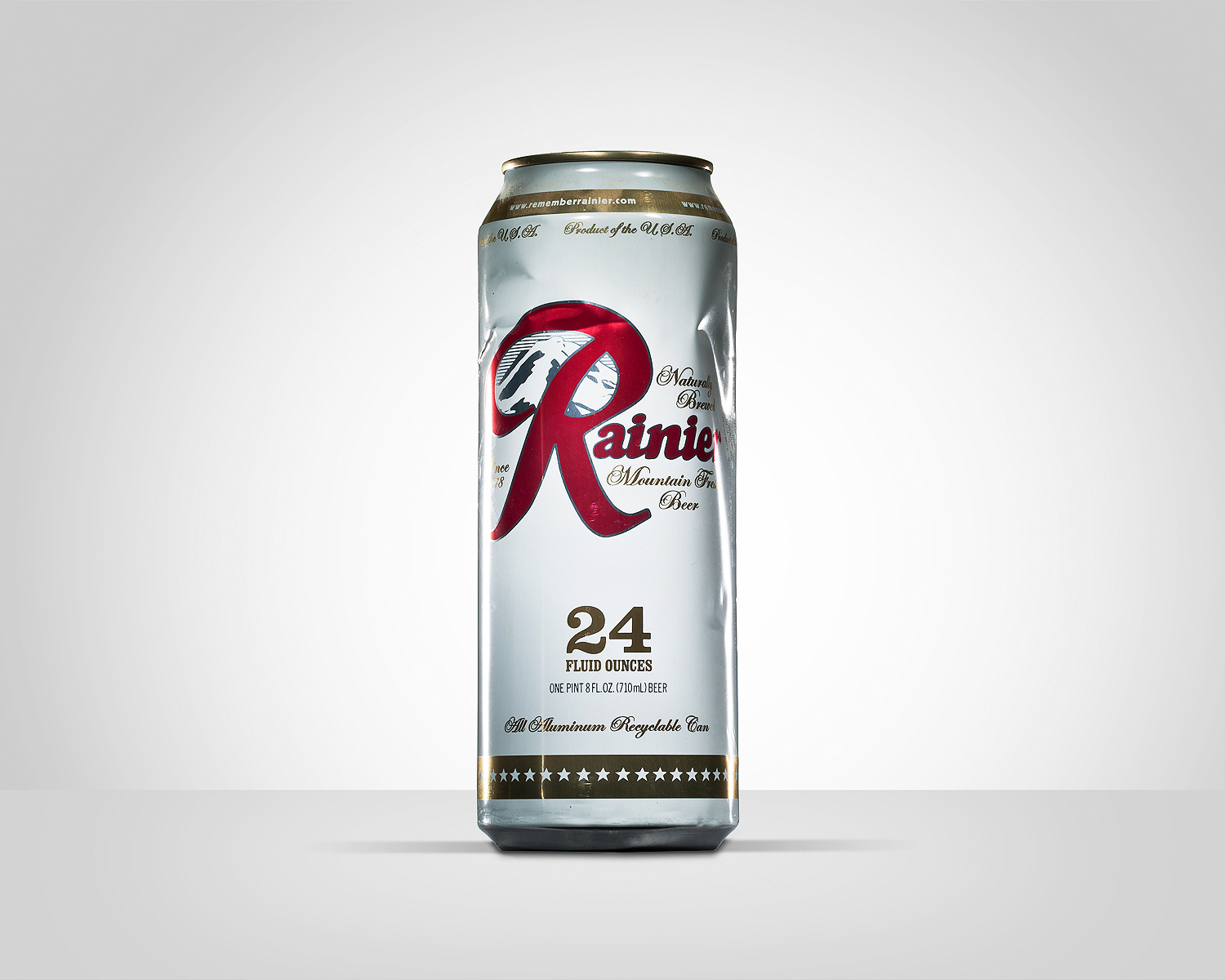 Rainier Beer 24oz